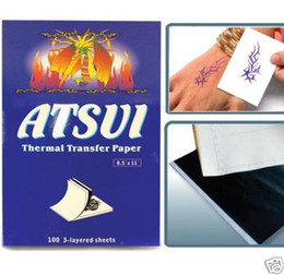Wholesale Top Tattoo Stencil Transfer Paper from tattoodiy WS011