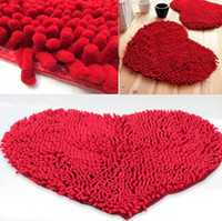 Wholesale 2015 fashion cm Bedroom Floor Love Heart Carpet Kitchen Bath Rug Mat Doormat Room Pad