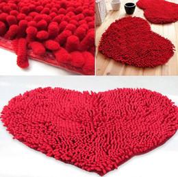 Wholesale 2015 fashion cm Bedroom Floor Love Heart Carpet Kitchen Bath Rug Mat Doormat Room Pad