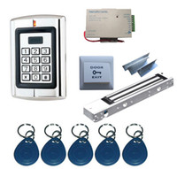Wholesale Complete One Door RFID Keyfob Access Control System Kits