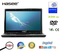 Wholesale 10 off Hasee laptop computer quot with Intel Pentium P6200 GB RAM GB HDD DVDRW HDMI Windows