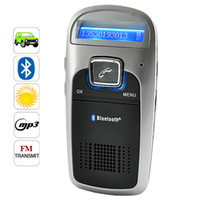 Wholesale Handsfree Bluetooth Car Kit Solar Powered