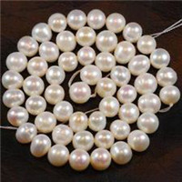 Wholesale 8 mm White Freshwater Cultured Pearl Loose Bead quot