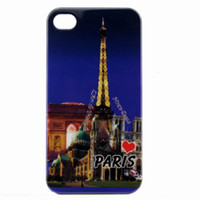 Wholesale Paris Eiffel Tower Hard Case Cover for Apple iPhone G New