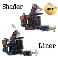 handmade - Hot Handmade Tattoo Machine Gun Shader Liner For Tattoo Needle Ink Tips Kits T1
