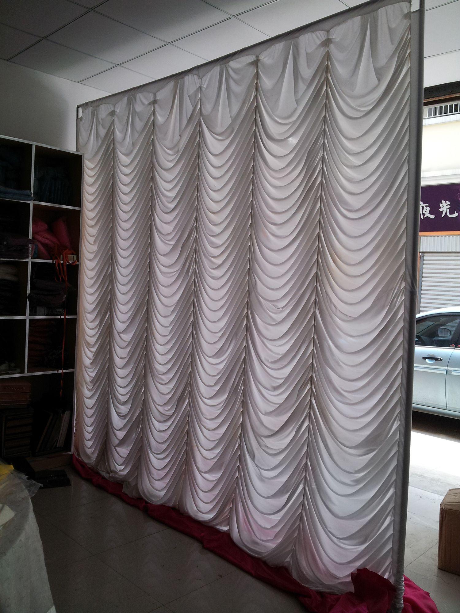 swag wedding backdrop curtain