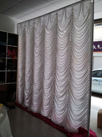 Wholesale swag wedding backdrop curtain