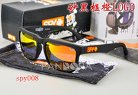 Wholesale Polarized New Style SPY OPTIC KEN BLOCK HELM Cycling Sports Sunglasses Outdoor Sports Sunglasses