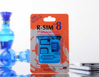 Wholesale R SIM RSIM8 R SIM8 Dual Sim Card Unlock for iphone iphone S iOS Univeral GSM CDMA WCDMA