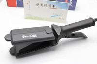 Wholesale Professional Wet and dry hair straightener Ceramic heating plates straightening iron Model358 cm