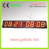 Wholesale Hot sale digit led indoor electronic clock