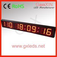 Wholesale Countdown timer indoor new led calendar clock