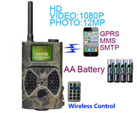 Wholesale Digital Scouting Hunting Trail Camera MMS GPRS to Mobile HC M