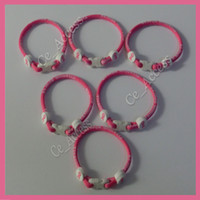 Other   Pink Breast Cancer Awareness Energy Tornado Titanium bracelet