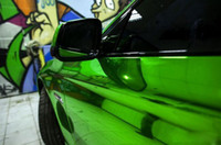 Wholesale green mirror chrome automotive wrapping vinyl film with air bubbles free M cv60m