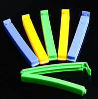Wholesale 18pcs Food bag clip sealing bag clip plastic sealer clip Plastic Bag Clip for Bread Kitchen Storage