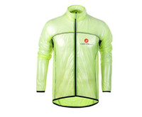 Wholesale Portable super light for castelli cycling raincoat Windbreaker cycling rain jacket