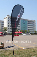 Wholesale Teardrop Banner Stand Flying Banner