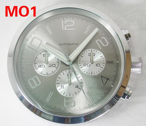 Luxury Home Decor Big Metal Wall Clock Movement Quartz Brand Watches Wall Clocks Design Mechanism