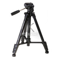 Wholesale YUNTENG VCT RM Professional Portable Tripod VCT With Tripod Head Bag For DSLR Camera KG Canon Nikon