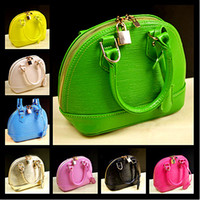 Wholesale 8 colors Toothpicks fold grain cute children s shell handbag lovely girls shoulder bags children totes purses