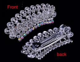 Fashion Hairpin hair accessories clips Hairgrip With Diamond Crystal Rhinestones Hairpin Hair Clip