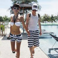 Wholesale Lovers Swimwear fashion Couple Beach Pants swimming Men Women board shorts Easy drying