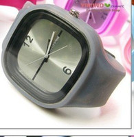 Wholesale latest jelly watch cute jelly watch factory price absolutely