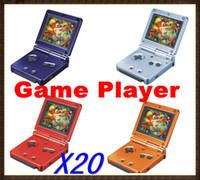 Wholesale 20PCS inch color LCD Handheld Game players GB Station Light Bit PVP RW GP02