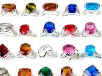 Cheap wedding ring CZ rings Best Cluster Rings Bohemian fashion crystal ring