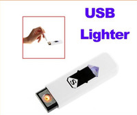 Wholesale Electronic USB Cigar Cigarette Lighter Rechargeable Flameless