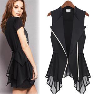2017 Fashion New Summer Sexy Women Vest/0943 # 2013 New Chiffon ...