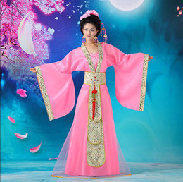 Wholesale Traditional Chinese Han Dresses Tang Dresses Ancient dresses Tang Costumes Dancing Dress color