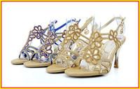 Cheap Beaded Popular fashion Best High Heel Peep Toe Best Selling Shoses