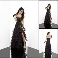 Reference Images Sweetheart Chiffon 2013 Sexy Prom Dresses Sweetheart Layers Embellished Beads Peacock Feathers A-line PED550 cn-trade