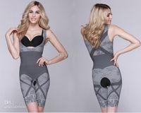 Bodysuit Christmas 2 sizes Women Bamboo Fiber Magic Slimming Underwear Charcoal Body SHAPER WAIST Cincher Butt Lifter Underwear
