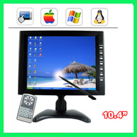 Wholesale 10 inch TFT LCD x600 CH AV input Car Standalone Monitor VGA and Analog TV