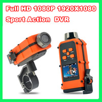 Wholesale Full HD P X1080 Waterproof Sport Action car DVR HD120 quot Helmet digital video camera DV