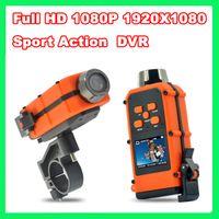 Wholesale Full HD P X1080 Waterproof Sport Action car DVR HD120 quot Helmet digital video camera DV