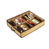 Wholesale Lowest Price Pairs Fabric Intake Organizer Holder Shoes Box