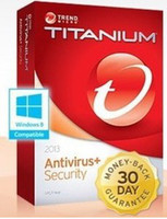 Antivirus & Security Home Integrated System Trend Micro Titanium Internet Security 2013 1Year 1pc, trend 2013 1 year