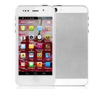 Wholesale A5000 G cell phone inch MTK6577 Dual Core GB ROM Android Dual Camera GPS h2000 H3000 I5