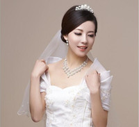 Wholesale Bridal Jewelry Sets Pearl Wedding Jewelry Imitate Pearl and Rhinestone Necklace Earrings