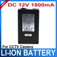 Wholesale DC V Rechargeable Li ion Battery for CCTV Camera mAh