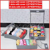 Wholesale Home Clothes Wardrobe Organiser Socks Tie Bra Tidy Storage Box Drawer Divider