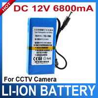 Wholesale 12V mah for CCTV Camera Super Rechargeable Li ion Battery V lithium battery pack
