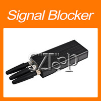 Wholesale Portable Mobile Phone Signal Blocker for Shield CDMA GSM DCS G Network Hot selling