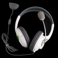 Wholesale Cushioned Stereo Ear cup Headset Headphone with Microphone for Microsoft XBOX mm