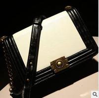 Soft Bags bag parcel - The new diamond lattice chain parcel one shoulder oblique satchel across the classic female bag