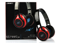 Wholesale 2014 SMS Audio Wired Street by Cent Over Ear On Ear Headphones DJ Headsets headphone colors